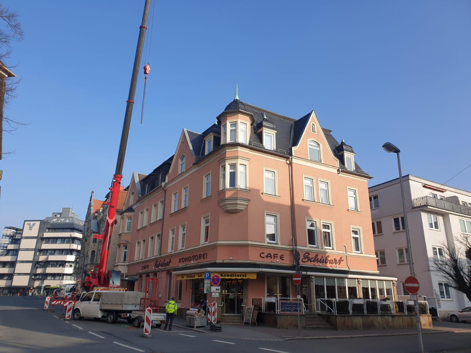 Umbau Café Schubart